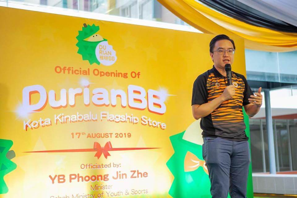 Official Launch of DurianBB KK Flagship @ Aeropod in Kota Kinabalu