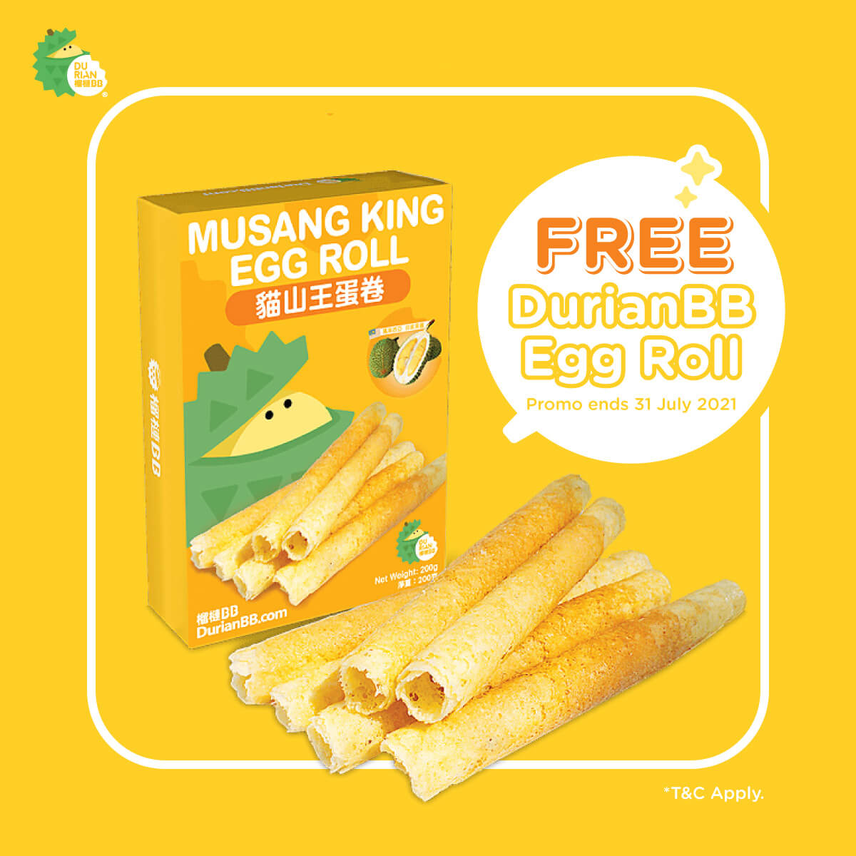 FREE Egg Roll… with ANY purchase!